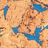 Korek ścienny MIAMI BLUE 3x300x600mm - 1,98m2