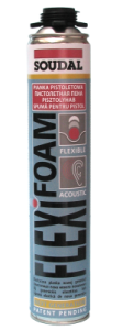 Piana montażowa do korka Soudal FlexiFoam 750ml