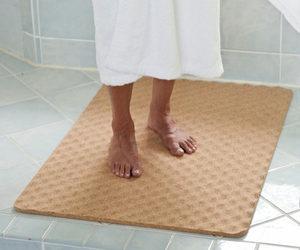 Podłogowe Maty Korkowe Korkowe Dywaniki Do łazienki Sauny
